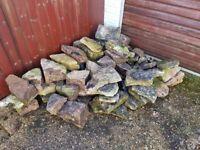 FREE Rocks, pond rocks, garden rocks