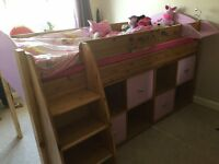Available for sale a lovely mid-sleeper bed in excellent condition !!!
