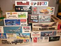 Wanted: Looking To Buy Model Kits, Cars Trucks Tank,Planes Airpl