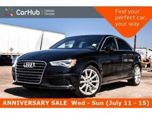 2015 Audi A3 TDI Technik|Navi|Sunroof|Backup Cam|Bluetooth|Leat