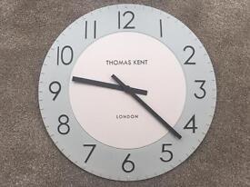 Thomas Kent Arabic Wall Clock
