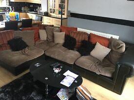 Large corner sofa! Need gone asap