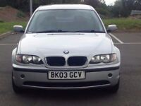 2003 (Apr 03) BMW 2.0 318i SE - Saloon 4 Doors - Petrol - Manual - SILVER *LONG MOT / SERVICED *