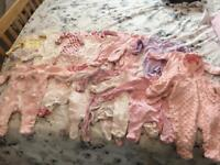 20 first size baby grows bundle.