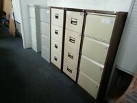 ***PRE-OWNED 4 DRAWER FILING CABINETS***