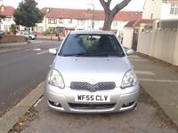 Toyota Yaris 1.3 Silver VVT-i 5dr Beautiful Clean Car / Drives Amazing LONG MOT