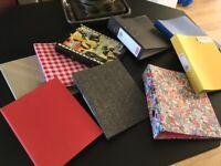 9 ring folders school/office