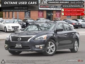 2014 Nissan Altima 2.5 S | Accident Free, One Owner! Clean!
