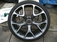 "Vauxhall Vectra/Astra/Zafira 19"" VXR/SRI/GSI Alloy Wheel With *Good* Tyre. 5x110. L00K"
