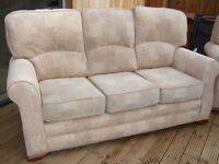 Sofa. 3 Seater sofa and 2 Chairs in good condition.