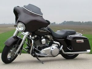 2007 harley-davidson FLHX Street Glide   Merlot Pearl and Stage  London Ontario image 2