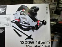 DRAPER CIRCULAR SAW , HARDLY USED