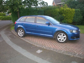 AUDI A3 2.0 TDI 5DR STUNNING CAR £30 TAX FULL SERVICE HISTORY 2OWNERS LOOK & DRIVES LOVELY NICE SPEC