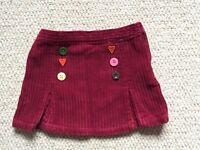 GYMBOREE winter corduroy skirt - Age 3 - excellent condition