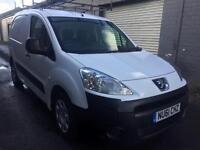 SALE! NO VAT! Bargain Peugeot partner 3 seater van, full years MOT, ready for work