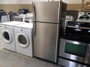 50- 4 ELECTROMENAGER FRIGO CUISINI??RE Laveuse Secheuse Frontale Frontload Fridge Stove Washer Dryer