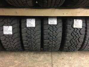 winter tires/rims (goodyear wrangler 265/70r17)