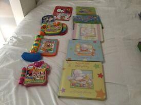 8 x Hardback books + 3 x musical books