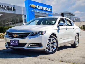 2018 Chevrolet Impala SUNROOF | REMOTE START | COLOUR TOUCH SCRE