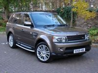 EXCELLENT EXAMPLE! 59 REG FACELIFT RANGE ROVER SPORT 3.0 TD V6 HSE 4WD AUTO FULL LEATHER REAR CAMARA