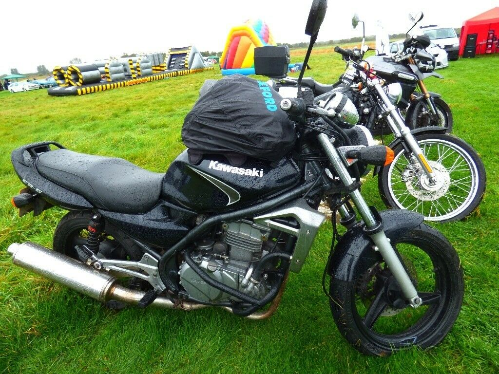 Kawasaki ER5, 2006, just 2 owners from new, Black