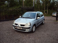 RENAULT CLIO 1.2 16v EXTREME 3DR HATCHBACK MOT SERVICE HISTORY SUNROOF CD EXTRAS CHEAP RUNNER ECO