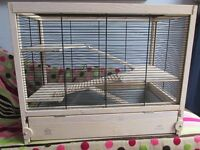 Large wooden Hamster cage, by Ferplast