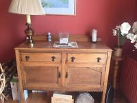 Large sideboard ideal for lounge, dining room or bedroom with 2 drawers and 2 larger compartments