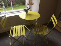 Gorgeous Habitat folding table and chairs