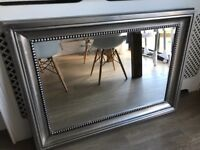 Stylish bevelled mirror from Next
