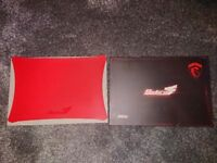 MSI Sistorm gaming mouse pad New