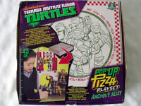 NEW Turtles Teenage Mutant Ninja Turtles Pop-Up Pizza Playset Anchovy Alley