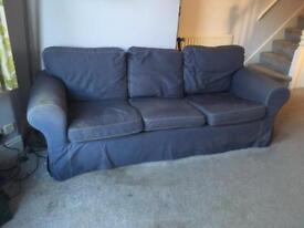 3 seat Ikea Sofa - new covers included