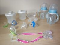 MOTHERCARE BOTTLE TO TRAINER CUPS/MILK POWDER STORAGE/PACIFIER/TOMMEE TIPPEE BOTTLES