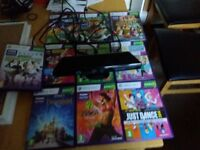 Xbox 360 kinect +games