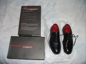 NEW AND BOXED BOY'S BLACK SHOES
