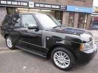 LAND ROVER RANGE ROVER 3.6 TD V8 Vogue 5dr Auto (black) 2010