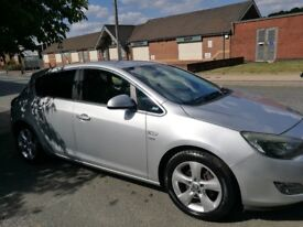 Vauxhall Astra 2.0CDTi ecoFLEX 16v SRi s/sManual 5dr silver2012 Warranty64000 mileage full servic (d