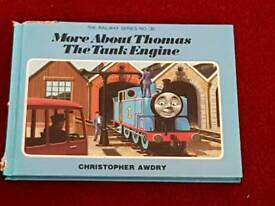 Signed by Christoper Awdry!! Thomas the Tank Engine book