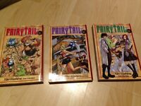 Manga books- Fairy Tail 1-3 in perfect condition