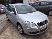 2007 VW POLO 1.4 AUTOMATIC 38600 GENUINE MILES, FULL SER HISTORY 2 KEYS HPI CLEAR, FINANCE AVAILABLE