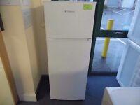 NEW GRADED WHITE HOTPOINT FRIDGE FREEZER (12 month warranty) REF: 13017