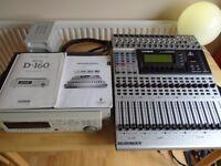 Fostex Behringer Complete 16 Track Digital Recording Package