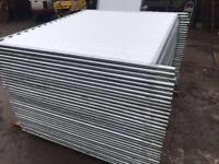 ❄️Temporary Site Hoarding Fencing * Solid Panels * £1300