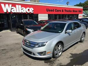 2010 Ford Fusion Sport V6 AWD SYNC Leather Sunroof