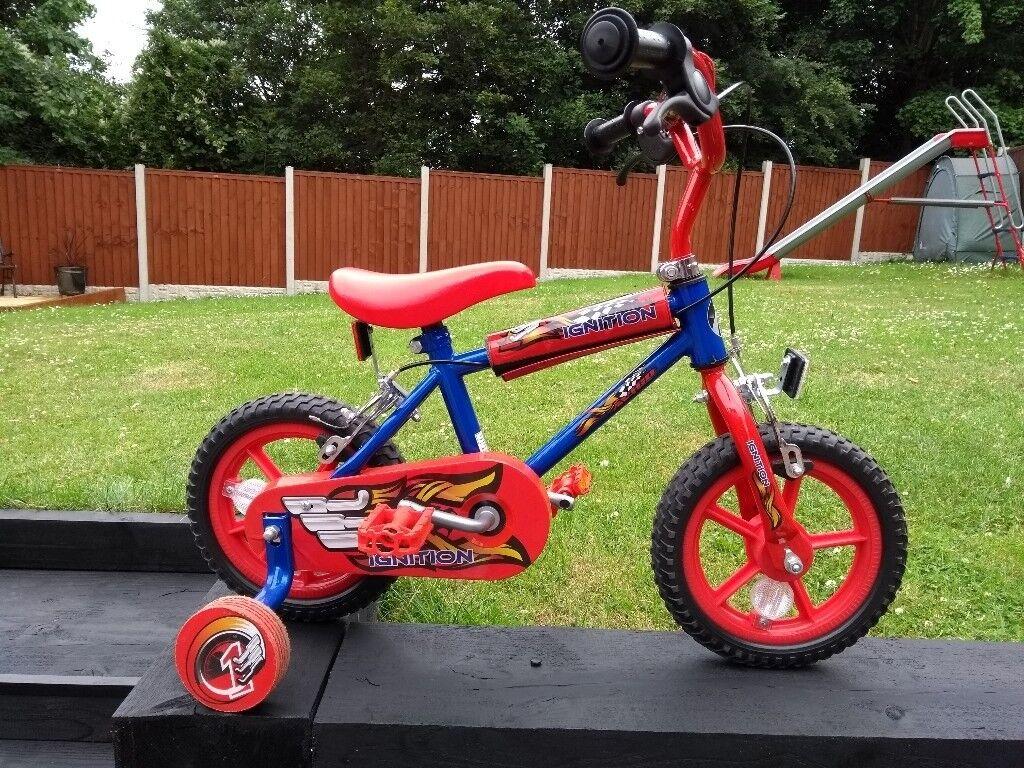 """Children childs first bike - 12"""" Avigo Ignition"""
