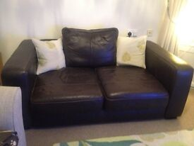 FREE LEATHER SOFA - MUST GO TODAY