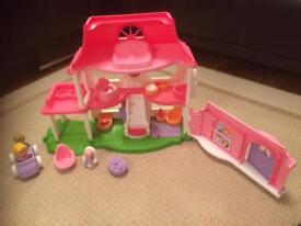 Fisher price toddler doll house