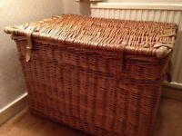Large Wicker Basket - Vintage.