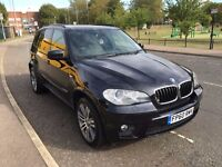 BMW X5 3.0D M SPORT X DRIVE DIESEL 2011 (60) FACELIFT 1 FORMER OWNER FULL BMW HISTORY LOW MILEAGE